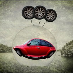 a flying car