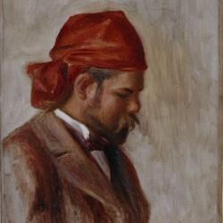 Portrait d Ambroise Vollard au foulard rouge