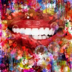 bouche pinçée
