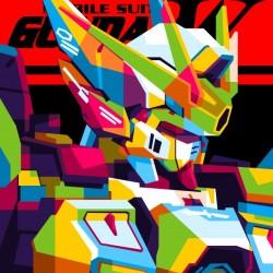 Wings Gundam Zero Pop Art
