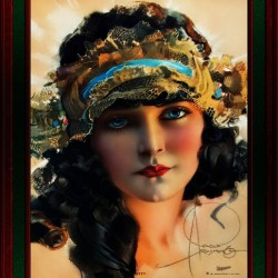 A Lovely Boudoir Bandeau On A 1920s Beauty by Rolf Armstrong Vintage Fine Art Xzendor7 Old Masters Reproductions