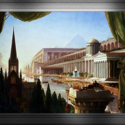 Architects Dream by Thomas Cole Classical Fine Art Xzendor7 Old Masters Reproductions