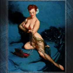 Fascination by American Painter Gil Elvgren Vintage Illustrations Xzendor7 Old Masters Reproductions