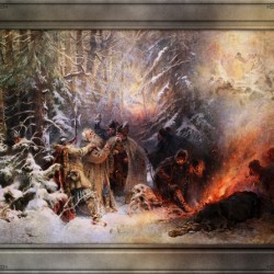 Ivan Susanin by Konstantin Makovsky Classical Fine Art Xzendor7 Old Masters Reproductions