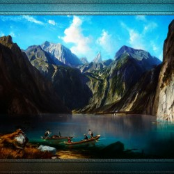 Konigsee c1873 by Willibald Wex Classical Fine Art Xzendor7 Old Masters Reproductions