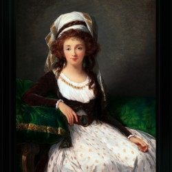 Madame dAguesseau de Fresnes by Elisabeth-Louise Vigee Le Brun Classical Xzendor7 Old Masters Fine Art Reproduction