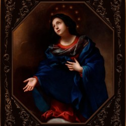 Madonna in Glory by Carlo Dolci Classical Art Xzendor7 Old Masters Reproductions