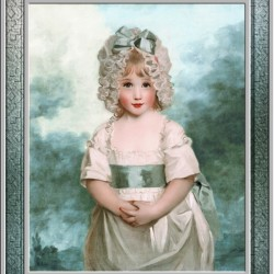 Miss Charlotte Papendick as a Child by John Hoppner Classical Art Xzendor7 Old Masters Reproductions