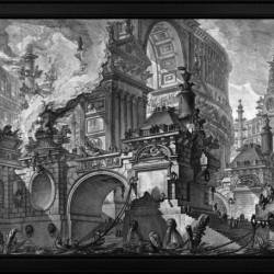 Parte di Ampio Magnifico Porto by Giovanni Battista Piranesi Classical Fine Art Xzendor7 Old Masters Reproductions