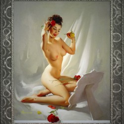 Perfection by Gil Elvgren Vintage Illustrations Xzendor7 Old Masters Reproductions