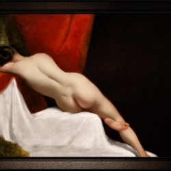 Reclining Female Nude by William Etty Classical Fine Art Xzendor7 Old Masters Reproductions