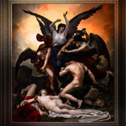 Remorse by Louis-Marie Baader Classical Art Xzendor7 Old Masters Reproductions