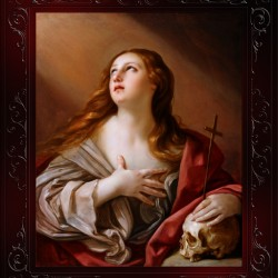The Penitent Magdalene by Guido Reni Classical Fine Art Xzendor7 Old Masters Reproductions