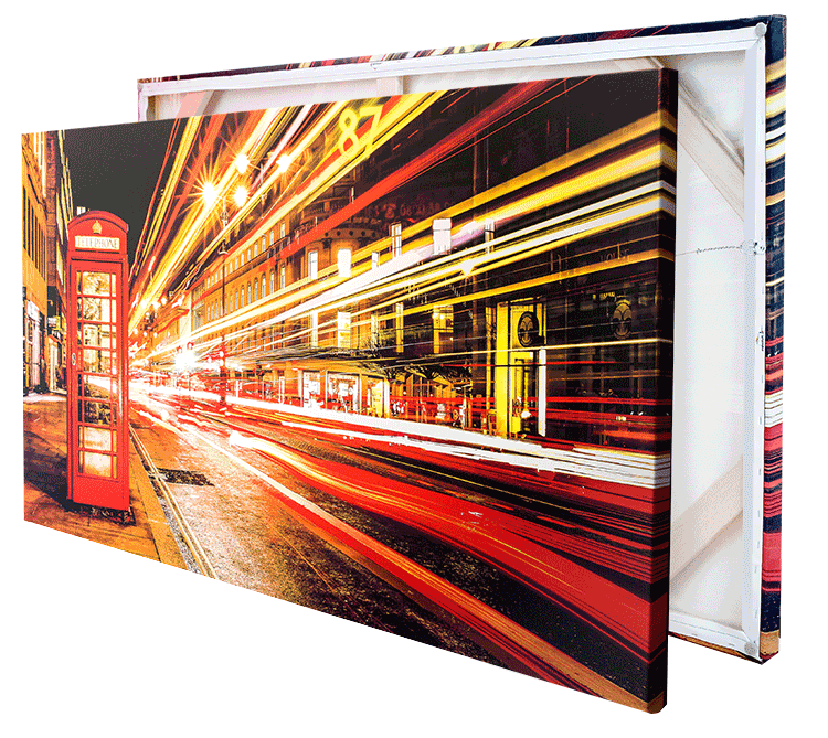 Stretched Frame Canvas Print