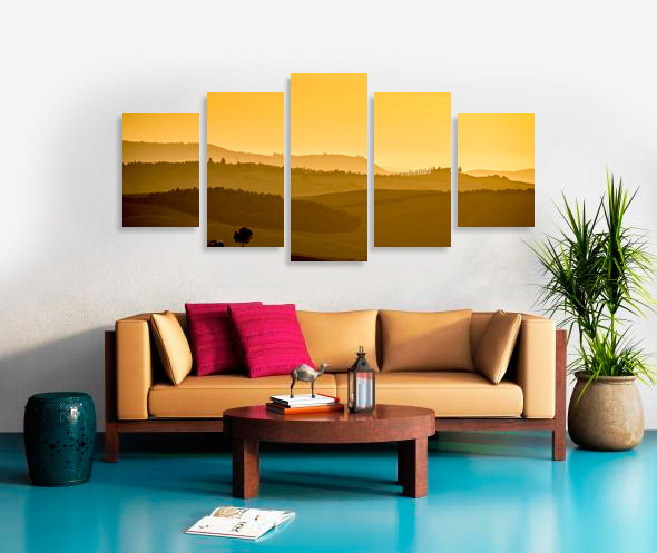 multi panel canvas print