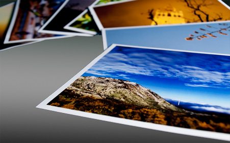 glossy photo printing features