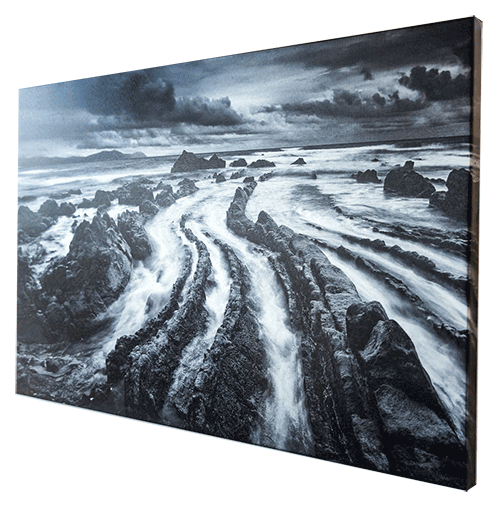 Silver Stretched Frame Canvas Print