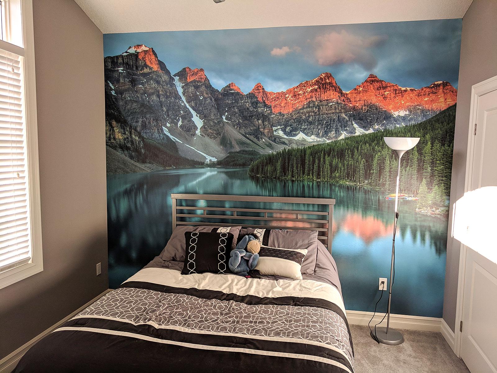 Mural print