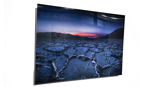 HD Metal Print ChromaLuxe