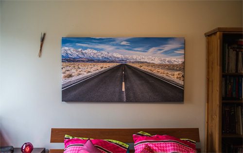4 asymetric 30x40 12x12 stretched split canvas print