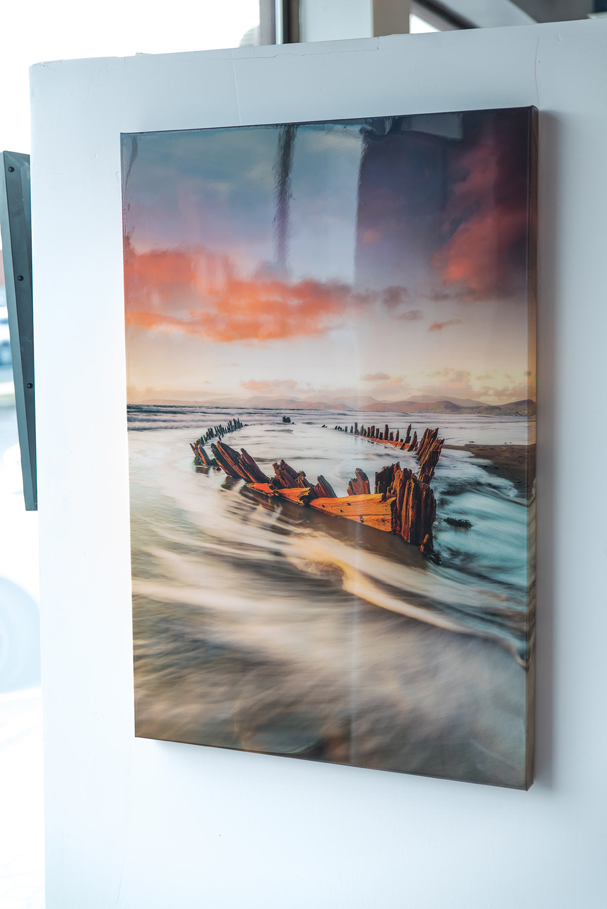 Canvas Print with Epoxy