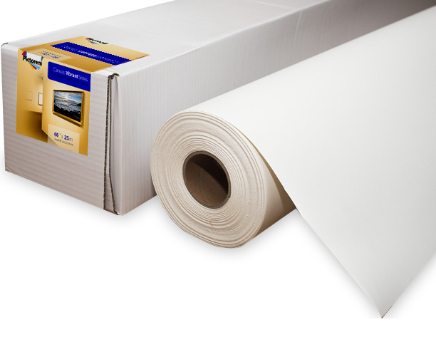 Fine Art Matte Canvas Roll 60 inch x 25 meters for Eco-solvent inkjet printer