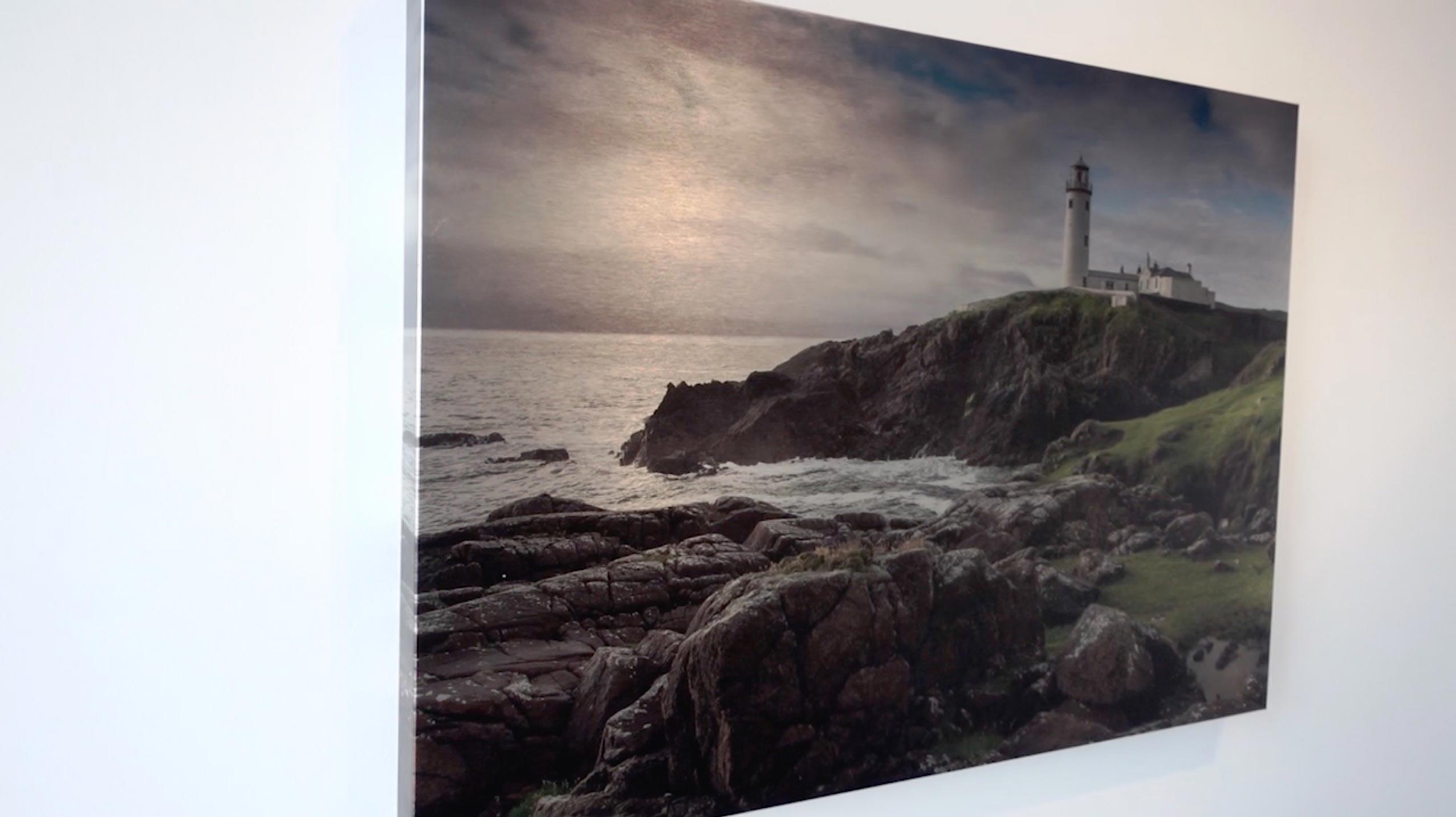 Votre Personnalisée Photo sur toile imprimé 30.5cmx20.3cm encadré A4