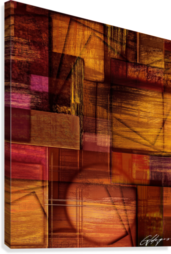 ABSTRACT-1512 Integration  Canvas Print