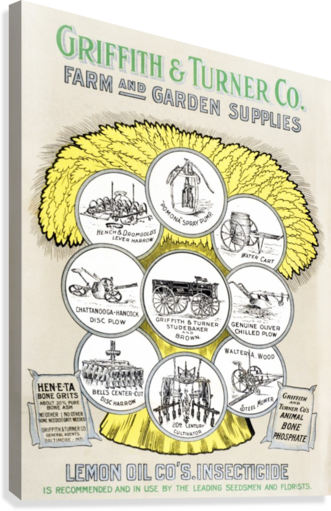 Griffith U0026 Turner Co. Farm And Garden Supply Catalog From The 20th Century.