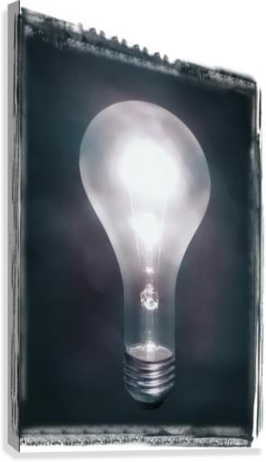 Light Bulb  Canvas Print