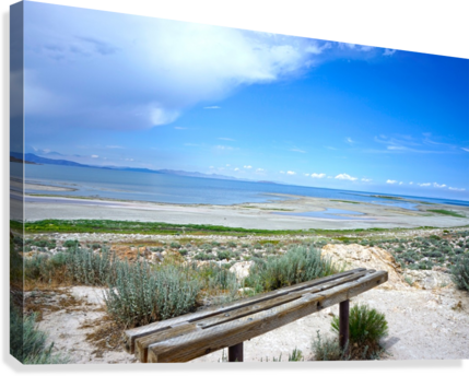 The Great Salt Lake 1 of 7  Canvas Print