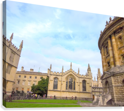 Snapshot in Time Presents a Visit to Oxford 2 of 8  Canvas Print
