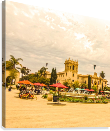 One Day in San Diego  Canvas Print
