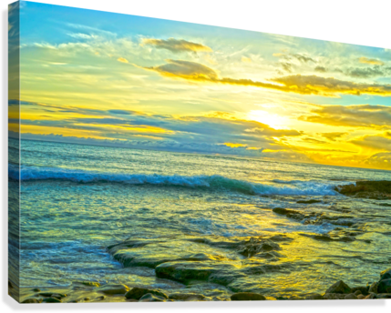 Sunset in Paradise   Hawaii  Canvas Print