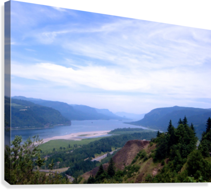 The Gorge   Columbia River  Canvas Print