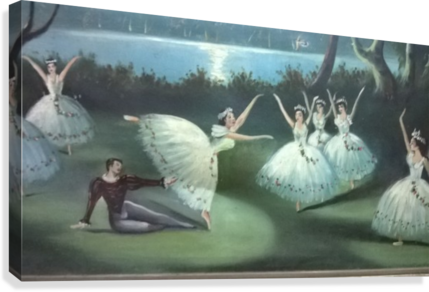 dancing  in moon lights  Impression sur toile