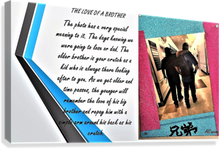 21.THE LOVE OF A BROTHER  3   Canvas Print