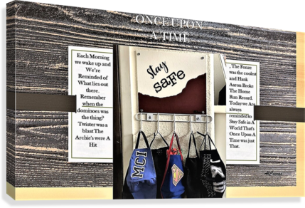 7.ONCE UPON A TIME  2   Canvas Print