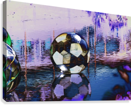 Large water ball.  Canvas Print