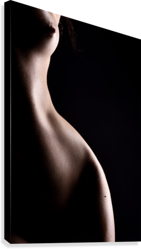 Nude_woman_sexy_fine_art_naked_07  Canvas Print