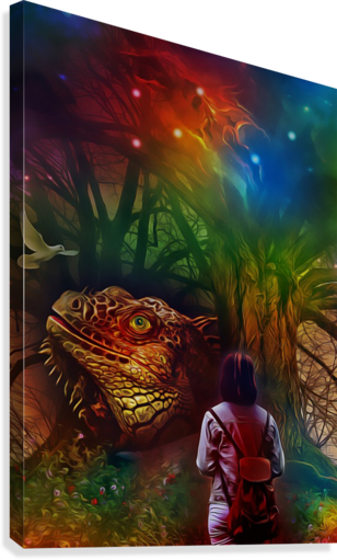 Keeper of the Tree  Canvas Print
