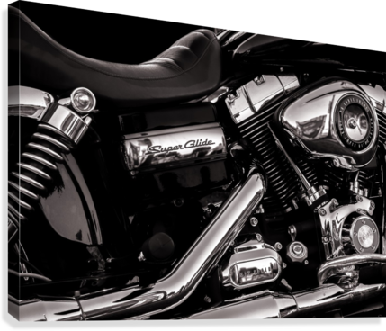 Motorcycle Number 1  Canvas Print