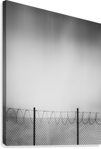 Restricted Zone  Canvas Print