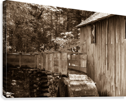 The John Cable Grist Mill  Canvas Print