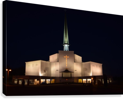 KNOCK SHRINE, CO.MAYO  Canvas Print