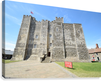 DOVER CASTLE, UK  Canvas Print