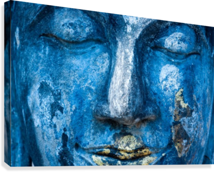 Buddha Face  Canvas Print