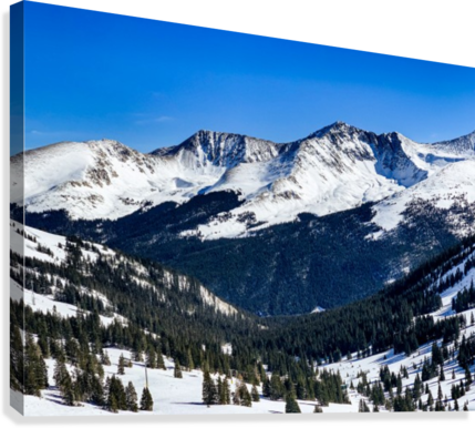 COPPER MOUNTAIN BY THE C MEDIA  Canvas Print