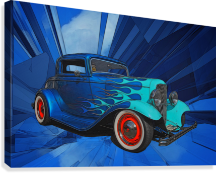 1932 Ford 3-Window Coupe  Canvas Print