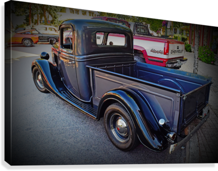 1935 Ford Pickup  Canvas Print